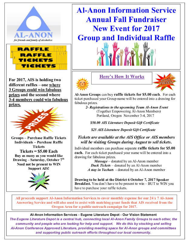 AIS Fall Fundraiser 2017 Flyer