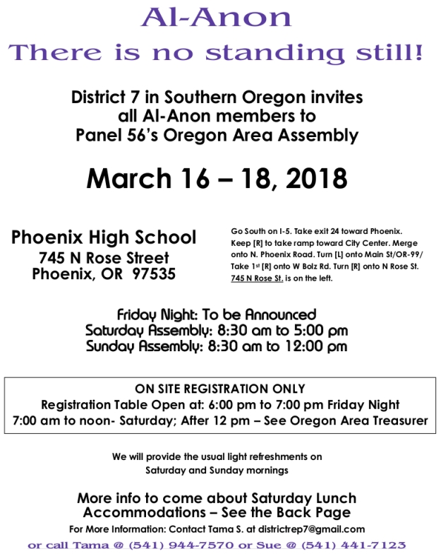 March 2018 Assembly District 7 Flyer